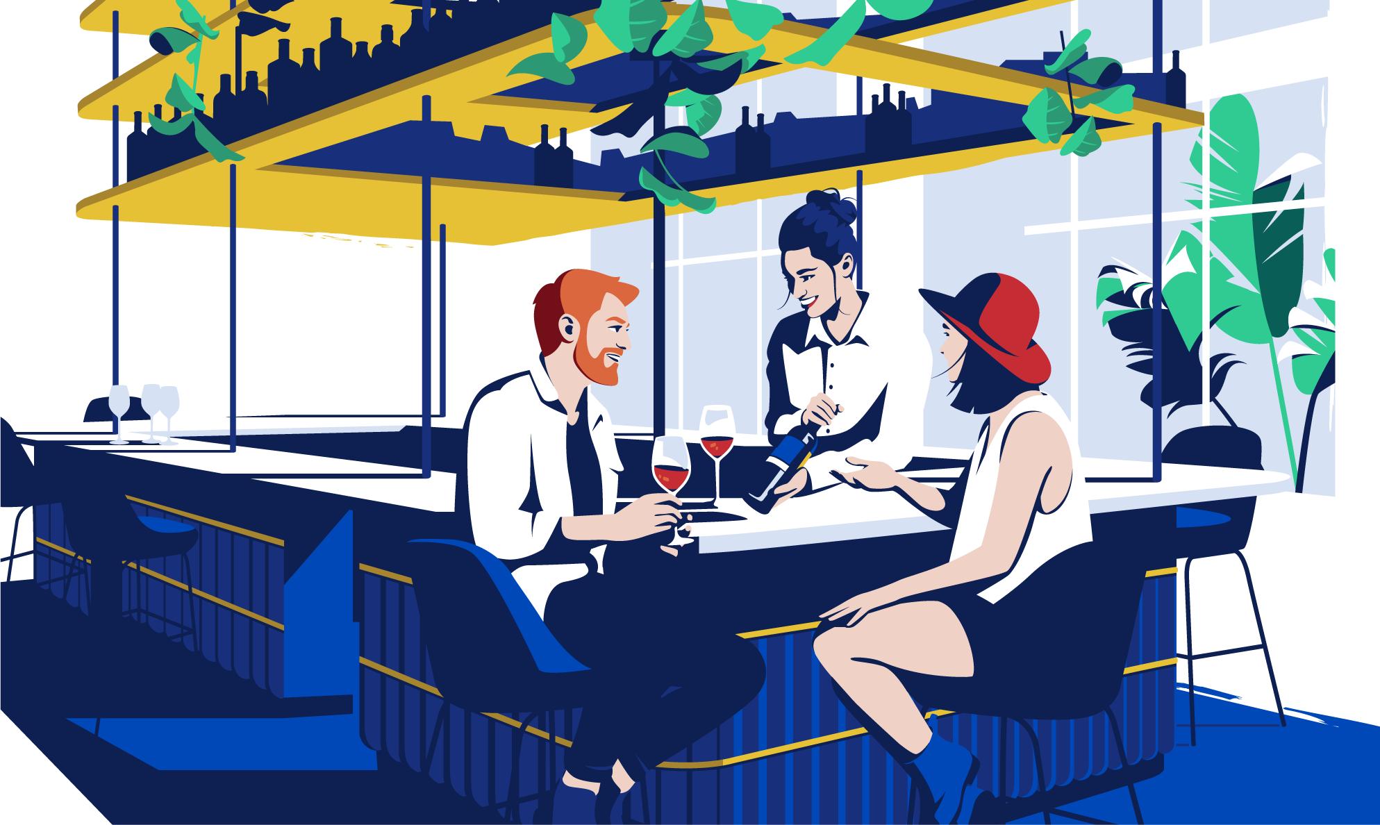Illustration of Drinks&Co - El Chico Llama
