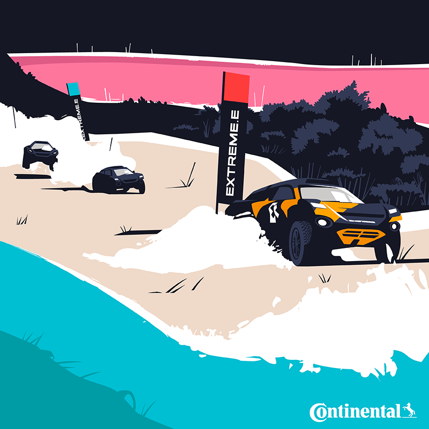 Illustration of Rally ExtremeE / Continental - El Chico Llama